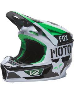 FOX V2 NOBYL MX-Helm
