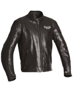 SEGURA PATCH leather jacket
