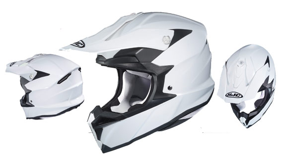 HJC i50 in klassischem weiß