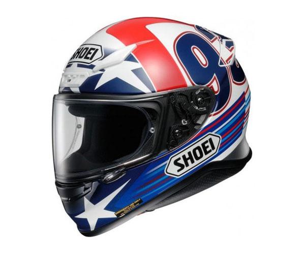 Der Shoei NXR Indy Marquez  TZ 2 Integralhelm