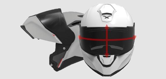 Nexx X.Vilitur with improved visor