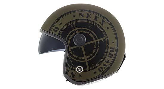 Nexx X.70 Bravo Jethelm in military green