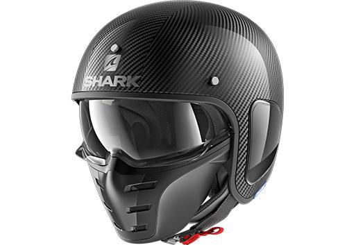 Optionale und zusätzliche Innenausstattung im Shark ATV DRAK mit Lärm- oder Sichtschutz