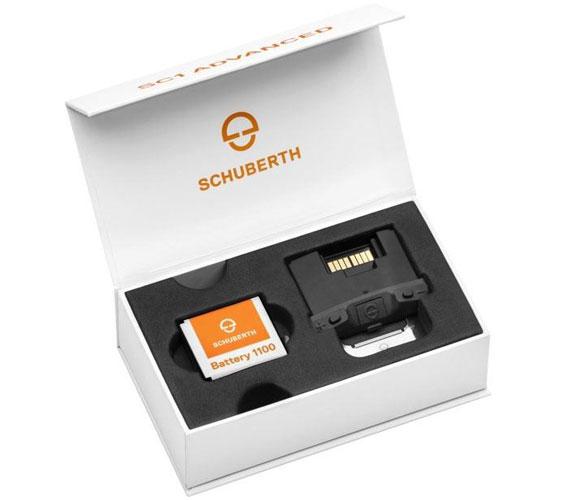 Das Kommunikationssystem für den Schuberth R2 für die Kommunikation während der Fahrt